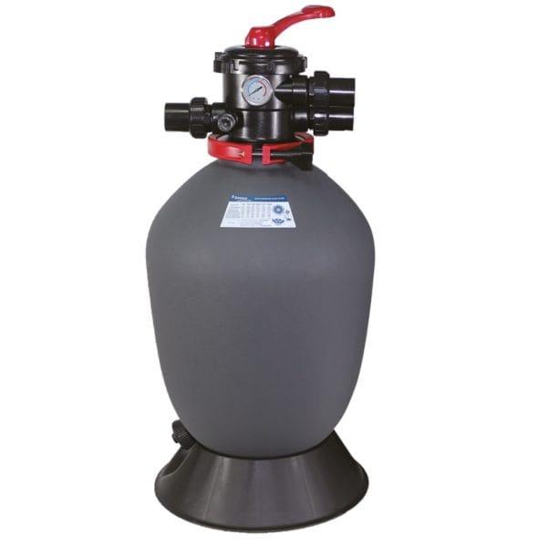 """Фильтр  AquaViva T700 (19,5m3/h, 711mm, 200kg, верх) 1.5"""" valve, 4 bar"""