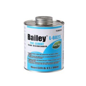 Клей 946ml Bailey для ПВХ труб