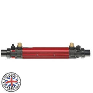 Теплообменник Elecro G2 122 kw HE 122T Titanium+316L (трубчатый, 4 bar)