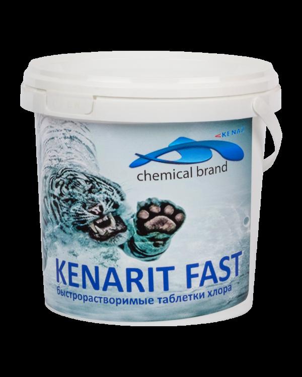 КЕНАРИТ ФАСТ (теблетки по 20гр) 0,8 кг Шок хлор