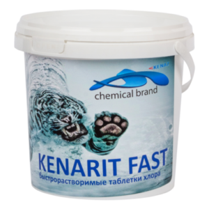 КЕНАРИТ ФАСТ (теблетки по 20гр) 4 кг Шок хлор
