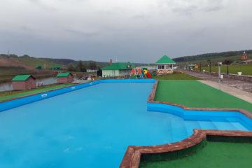 Открытый бассейн скиммерного типа