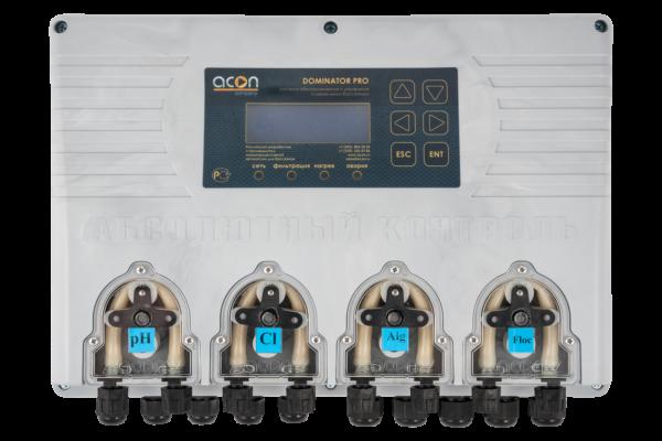DOMINATOR-PRO - Универсальная станция хим. дозации и автоматического управления плавательным бассейном