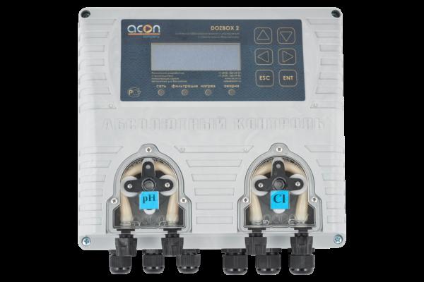 DOZBOX/2 - Универсальная станция хим. дозации и автоматического управления плавательным бассейном