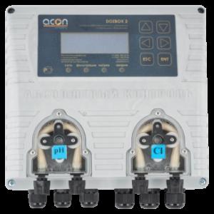 DOZBOX/2 — Универсальная станция хим. дозации и автоматического управления плавательным бассейном