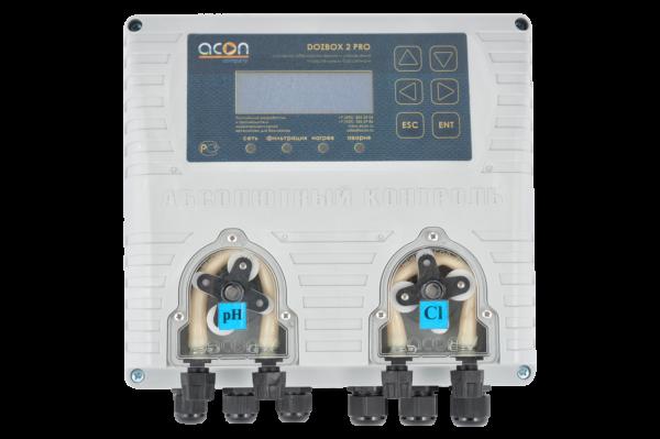 DOZBOX-PRO/2 - Универсальная станция хим. дозации и автоматического управления плавательным бассейном