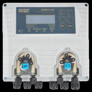 DOZBOX-PRO/2 — Универсальная станция хим. дозации и автоматического управления плавательным бассейном