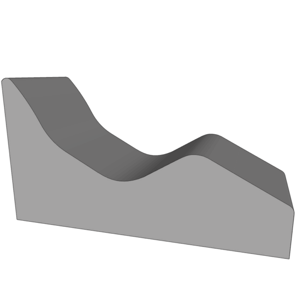 Лежак half-sitting