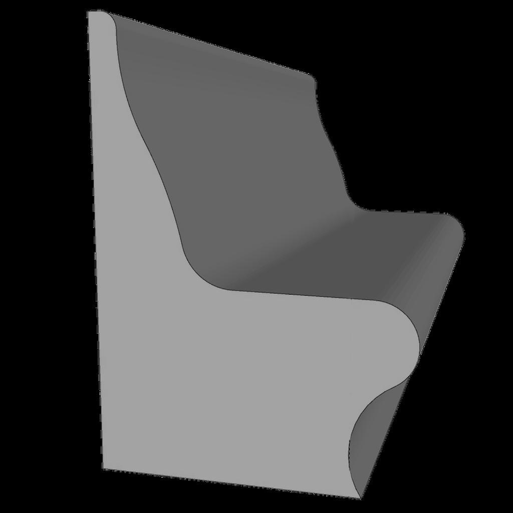 Скамья Soft 1 м.п.