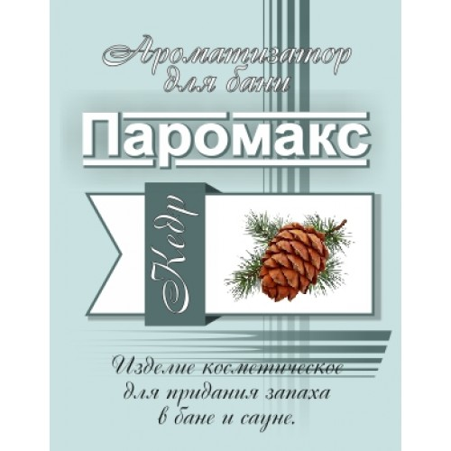 "Ароматизатор для хамама Кедр ""Премиум"" 5 литров"