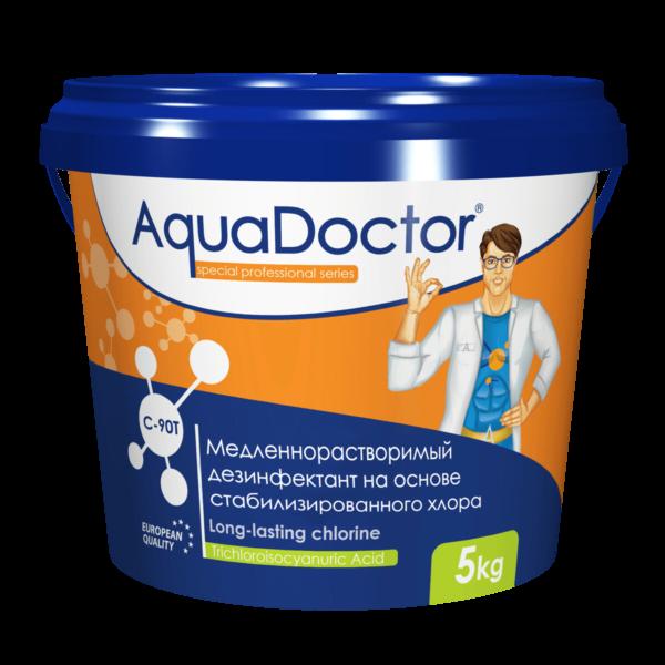 AquaDoctor C-90T Длительный хлор в таблетках по 200 гр. ( 5 кг )