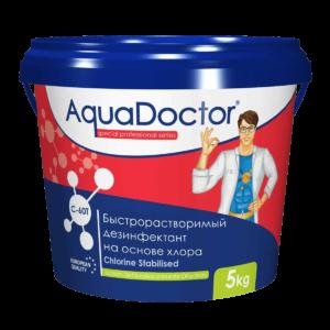 AquaDoctor C-60T шок хлор в таблетках по 20 гр. ( 5 кг )